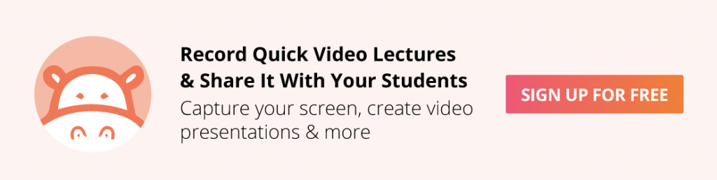 lecture recording tool