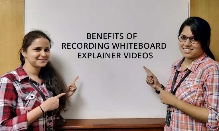 benefits of recording whiteboard explainer videos