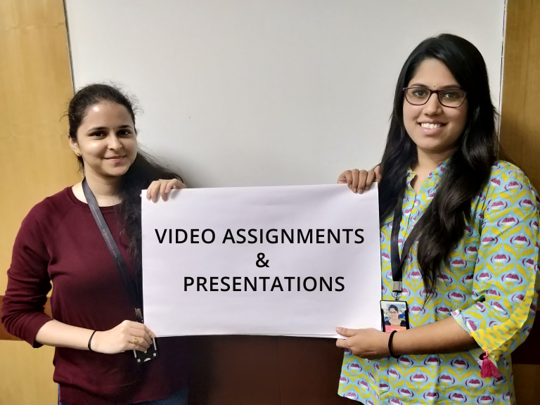 Different ways students can create video assignments and presentations
