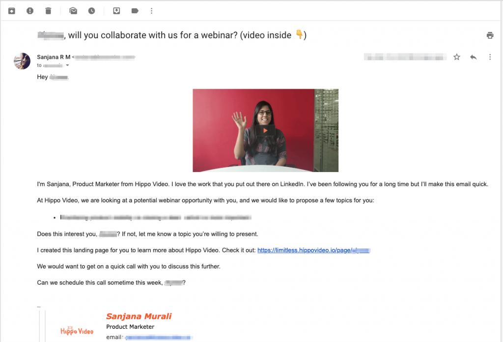 sending video emails