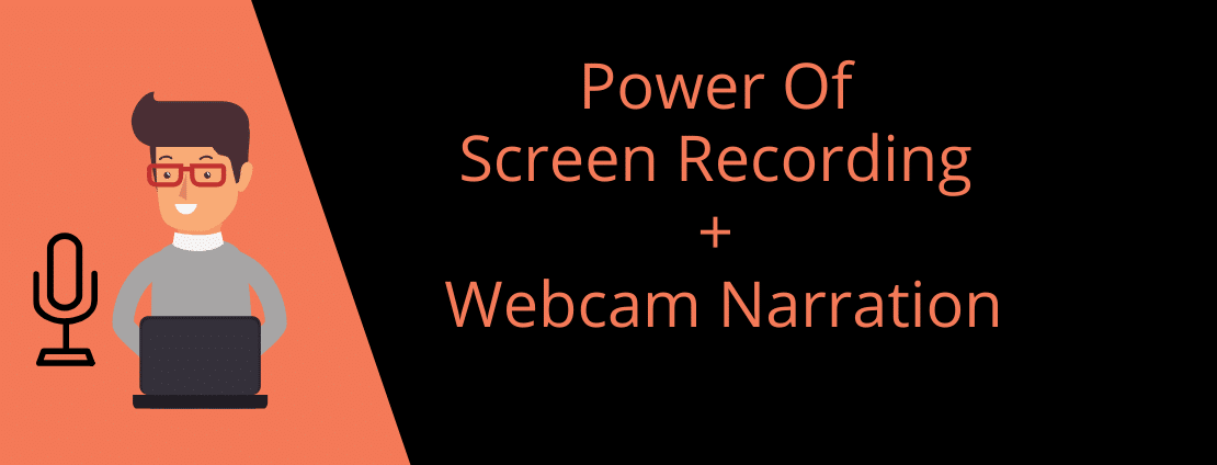 Power of Recording screen with webcam