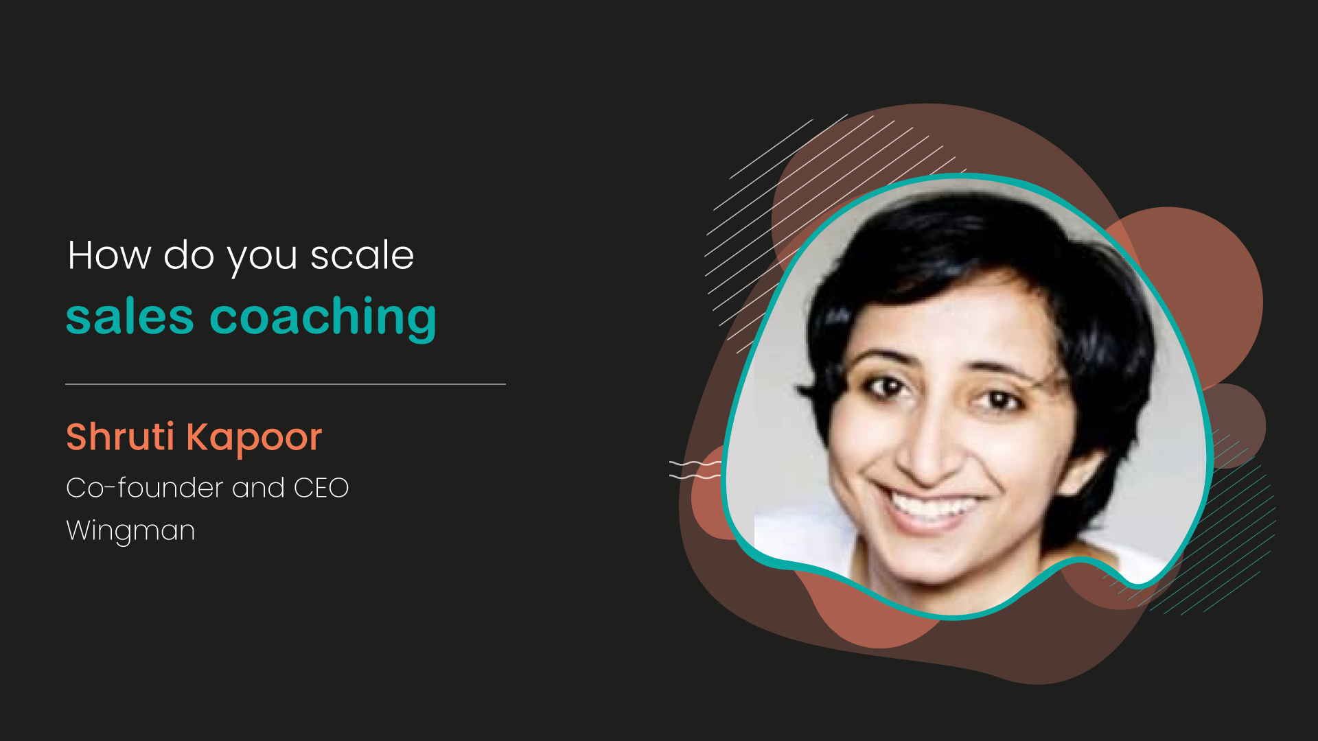 How do you scale sales coaching?