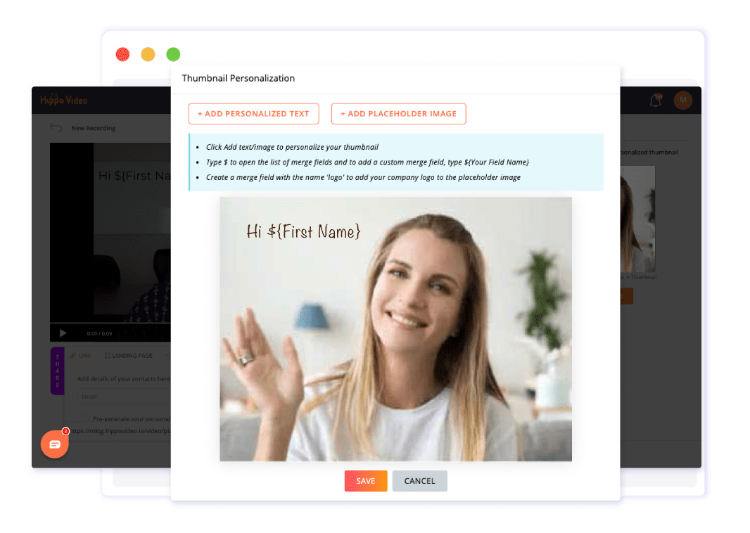 Send Personalized Email Campaigns | Hippo Video
