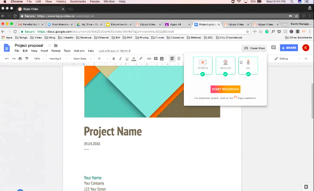 Hippo Video Integrates With Google Docs