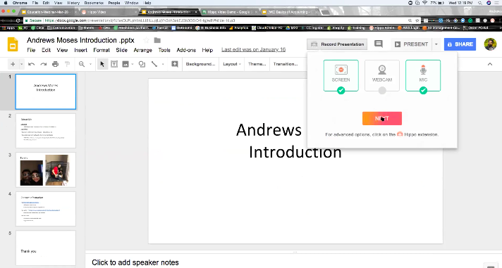 Hippo Video Inside Google Docs