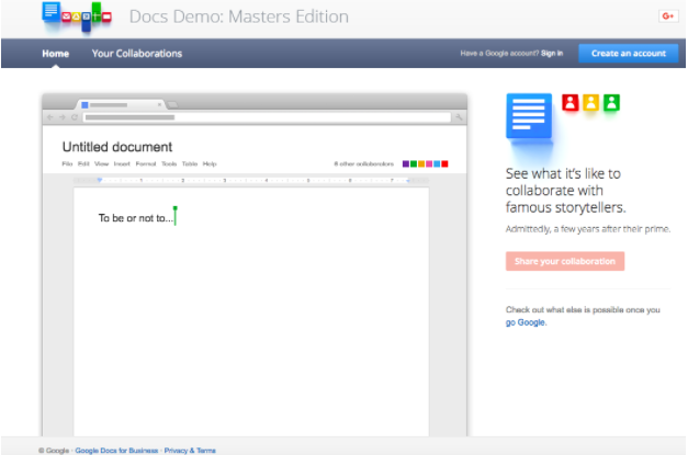 Docs demo master edition